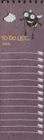 دفتر یادداشت خط دار (پلنر:مگس جان)،(کد3338)،(سیمی)