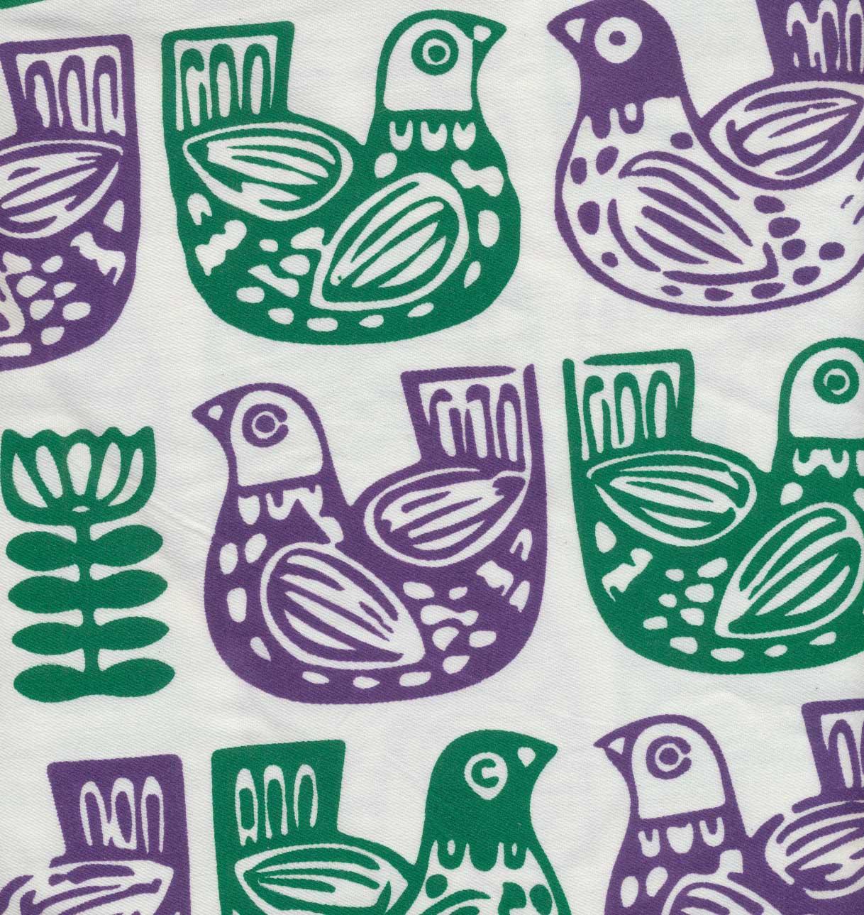 کادوپیچ پارچه ای (طرح مرغ)