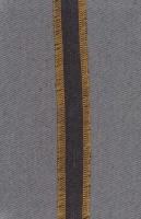 دفتر یادداشت خط دار پارچه ای زیگزاگ (مشکی)