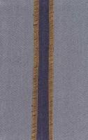 دفتر یادداشت خط دار پارچه ای زیگزاگ (آبی)