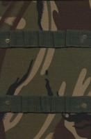 دفتر یادداشت خط دار پارچه ای جامدادی-پلنگی (سبز)