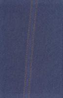 دفتر یادداشت خط دار پارچه ای دوخت (آّبی)