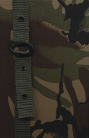 دفتر یادداشت خط دار پارچه ای بندی-پلنگی (سبز)