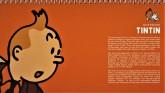 دفتر یادداشت خط دار تن تن (کد 412)،(سیمی)