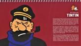 دفتر یادداشت خط دار تن تن (کد 429)،(سیمی)