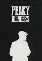 دفتر یادداشت بی خط (PEAKY BLINDERS:پیکی بلایندرز)،(سیمی،کاغذ مشکی)