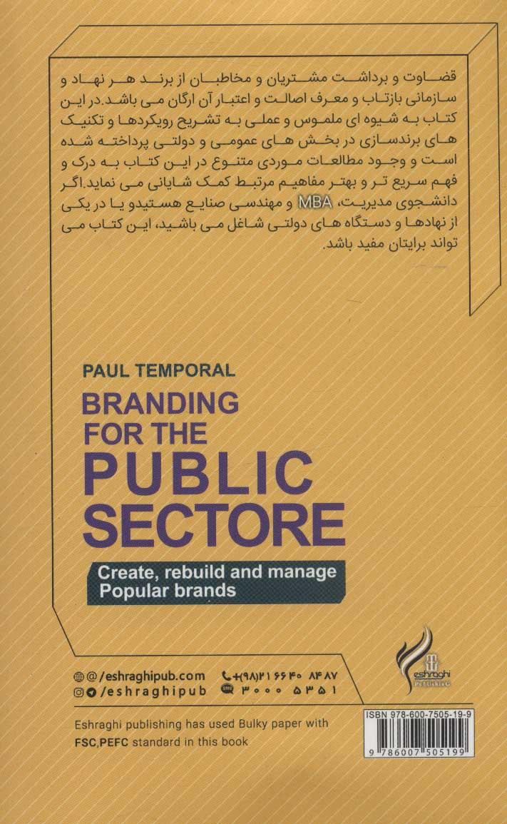 برندسازی در بخش عمومی (ایجاد،بازسازی و مدیریت برندهای مردم پسند)
