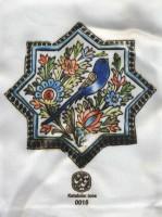 کیف پارچه ای قدیما 26*35 (طرح کاشی،کد 0015)
