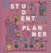 دفتر یادداشت برنامه ریزی دانش آموزی (پلنر صورتی،کد535)،(سیمی)