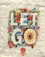 کیف پارچه ای 22*28 (طرح LET GO،کد 795)