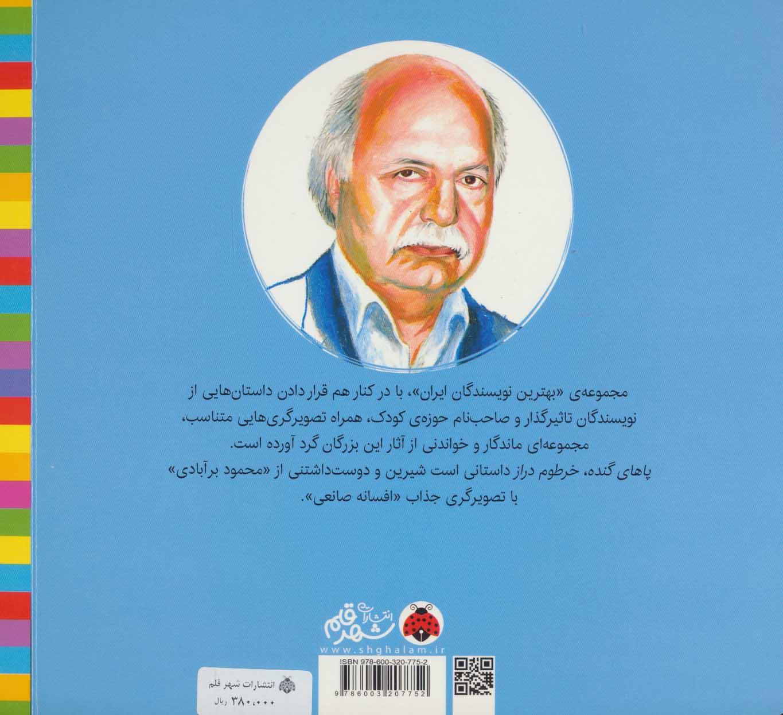 پاهای گنده خرطوم دراز (بهترین نویسندگان ایران)
