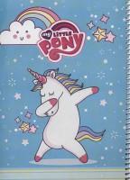 دفتر نقاشی پونی 40برگ (کد 501)،(سیمی)