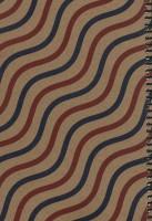 دفتر یادداشت خط دار قدیما (طرح موج)،(سیمی)